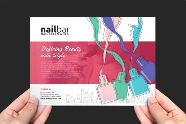 Nail Salon Flyer Design
