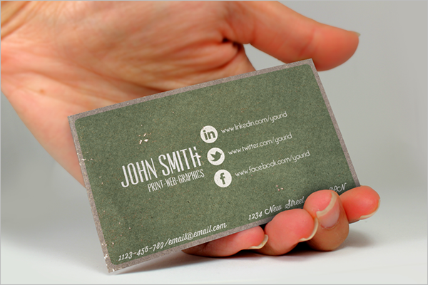 Networking Business Card Free Design