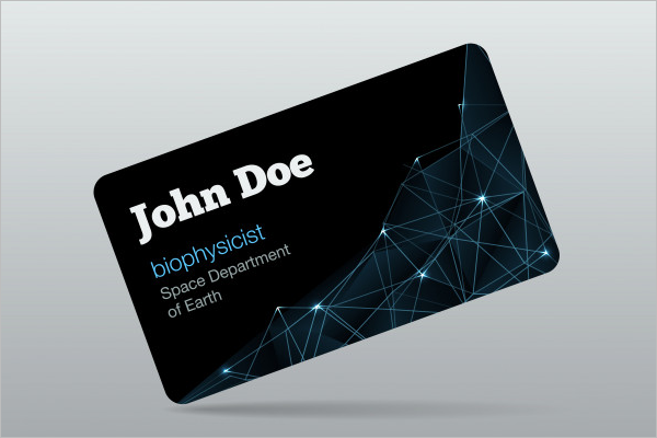 Networking Business Card Free Vector Design