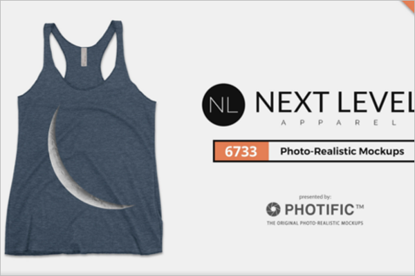 Next Level Clothing Mockup Design