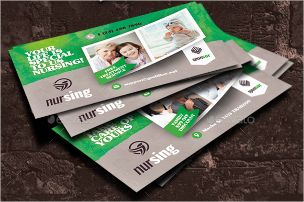 Nursing Business Card Design