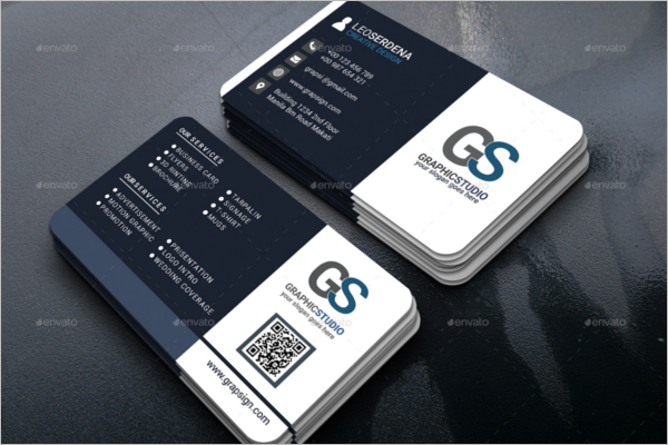 Official Business Card Template