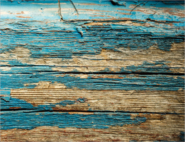 Old Peeled Wood Texture Design