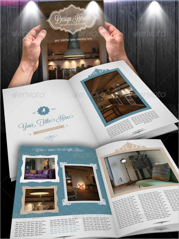 Old Style  Brochure Template