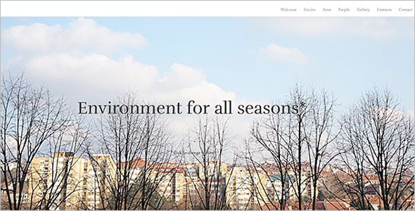One Page Design Joomla Template