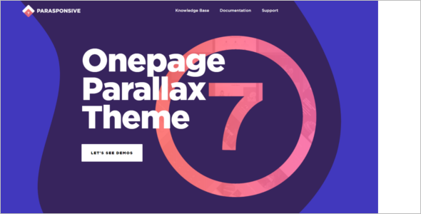 One Page Woocommerce Theme