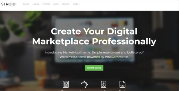 Online Store Woocommerce Theme