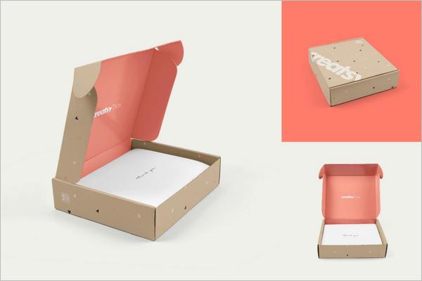 Open Box Mockup Set