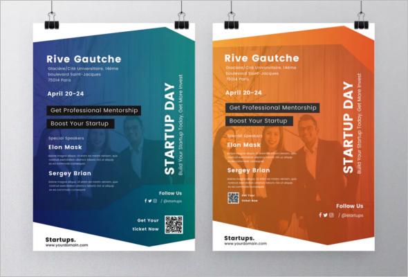 Open Event Flyer Template PSD