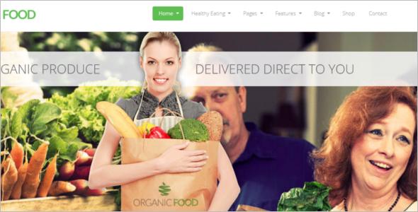 Organic Food Woocommerce Theme