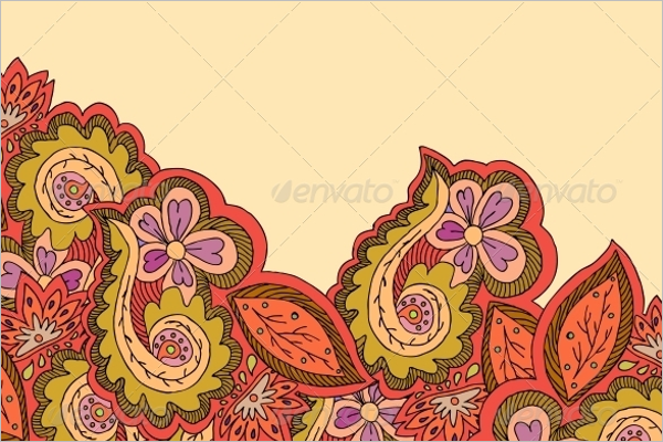 Ornamental Border Design