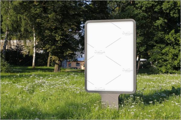 Outdoor Billboard Mockup Design