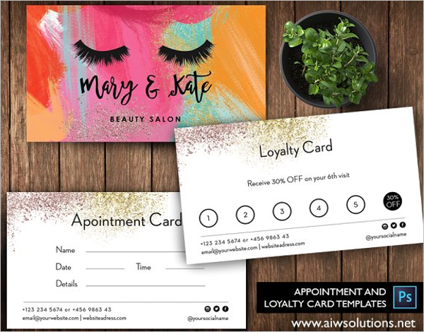 Own Appointment Card Design