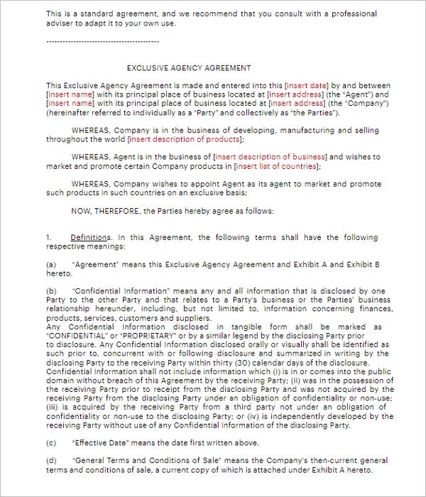 Owner Agreement Form PDF