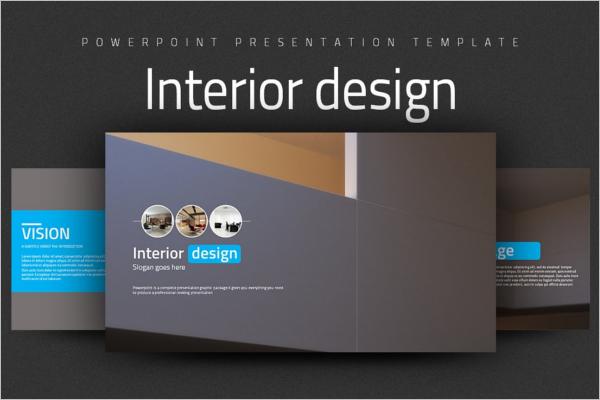 PPT Interior Design Template
