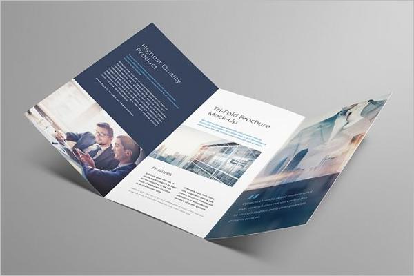PSD Brochure Mockup Template