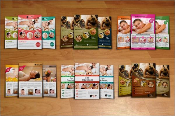 Pack Of Beauty Salon Flyer Design