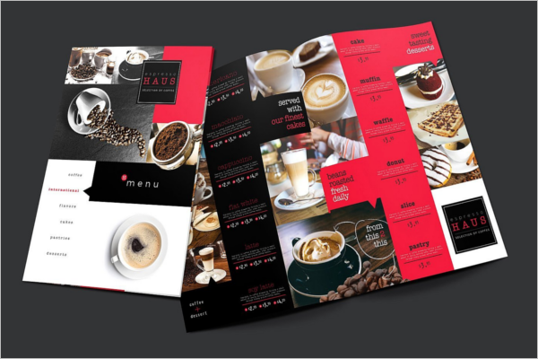 Pack Of Cafe Menu Template