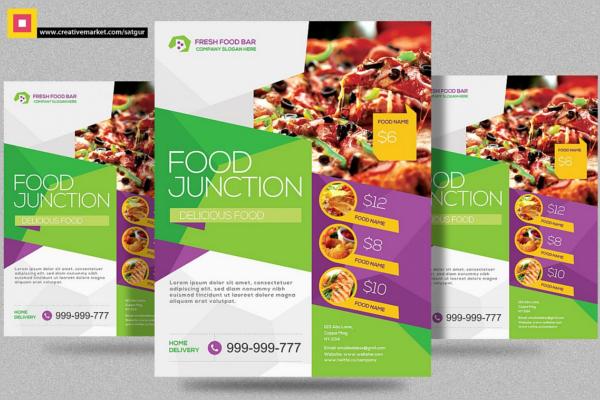 Pack Of Flyer DesignRestaurant