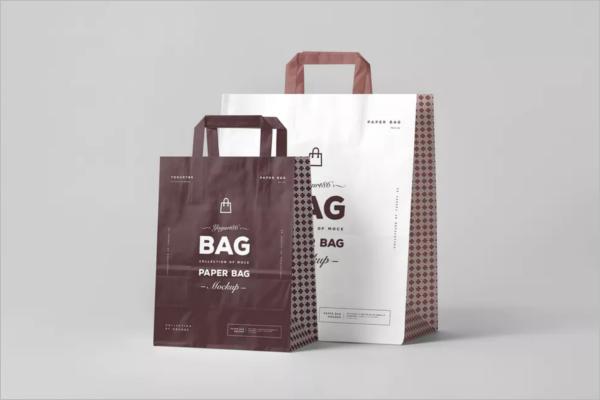 Paper Bag Design Mockup