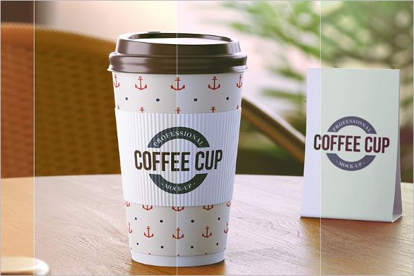 Paper Coffee Cup Mockup Design