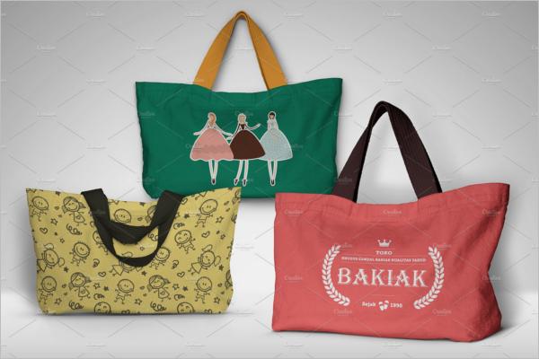 Paper & Cotton Bag Design Mockup