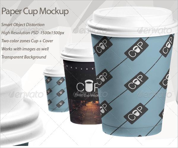 Paper Cup Mockup Pack Design