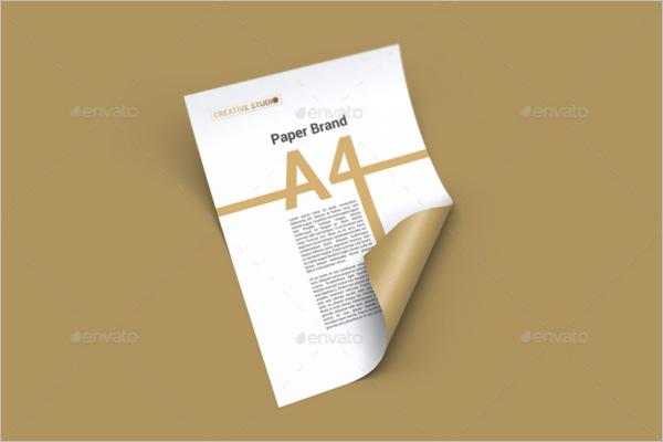 Paper Mockup Design