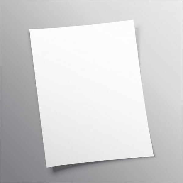 Paper Mockup Free Download