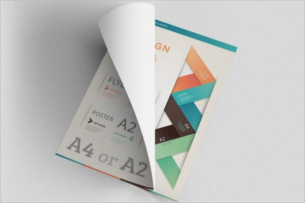 Paper Poster Design Mockup