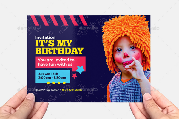 Party Flyer A5 Template