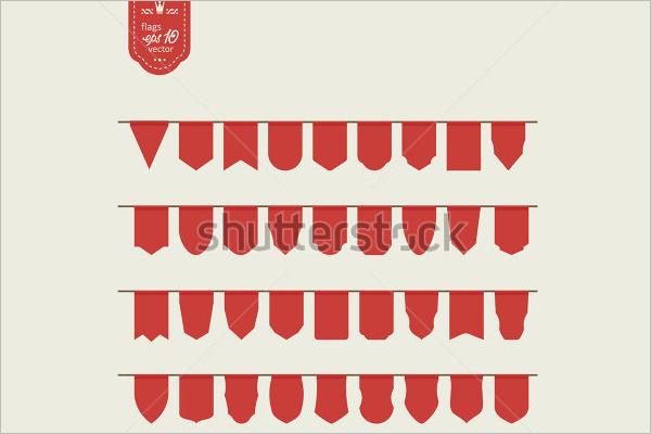Pennant Banner Hang Design