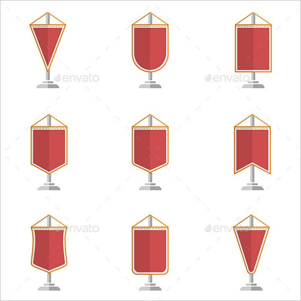 Pennant Banner Design Bundle