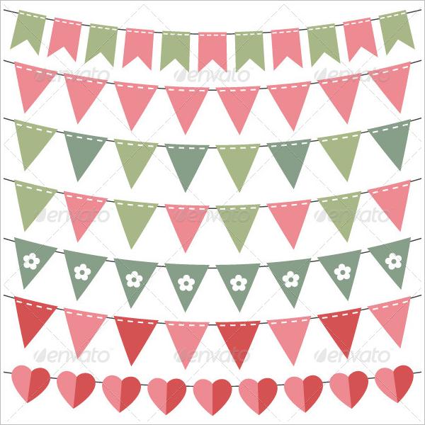 Pennant Banner Design PDF