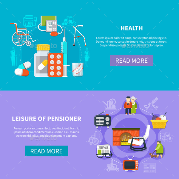 Pension Party Banner Design
