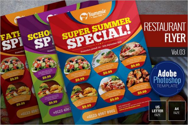 Perfect Restaurant Flyer Design