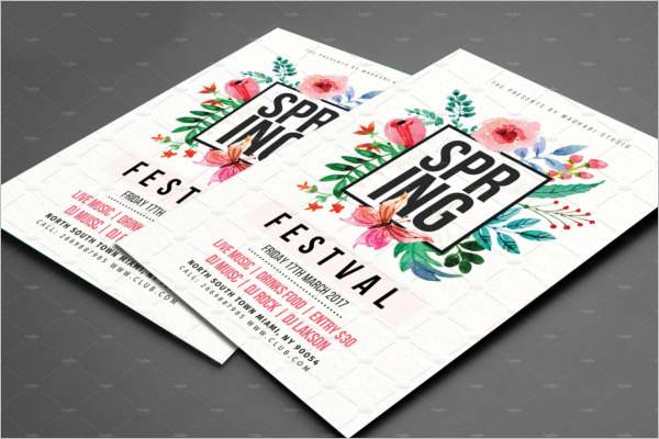 Perfect Seasonal Event Flyer Template
