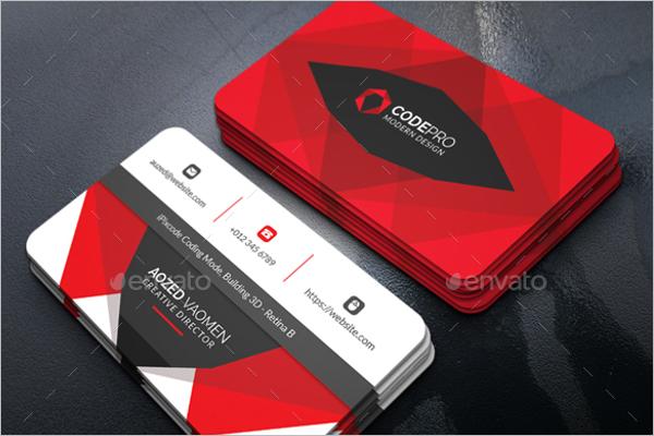 Personal Business Card Design Photoshop