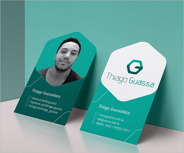 81 best business card templates free psd word vector for Personal business cards templates free