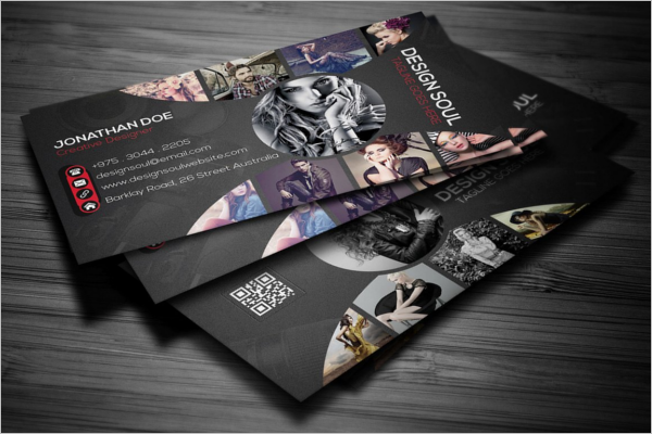 Personal Identity Business Card Template
