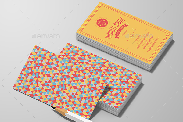 Personal Vintage Business Card Template