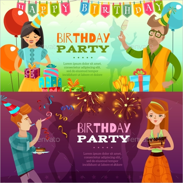 Personalized Birthday Banner Template