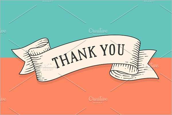 Personalized Blank Thank You Template