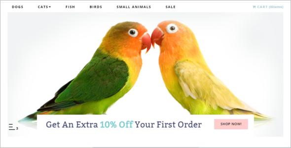 Pet Store Opencart Theme