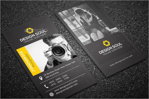 Photo Studio Business Card Design