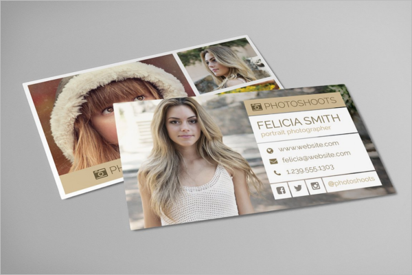 Photography Business Card Design Download