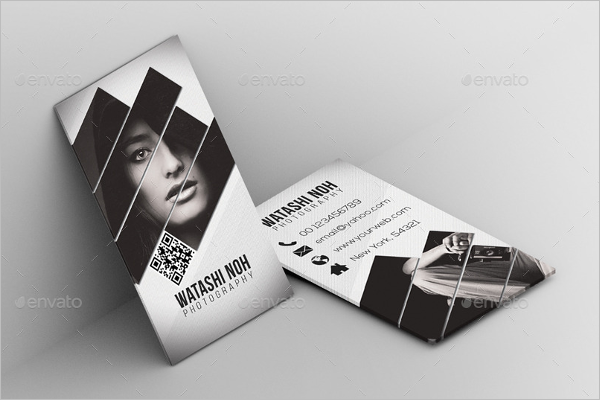 Photography Business Card Elegant Design