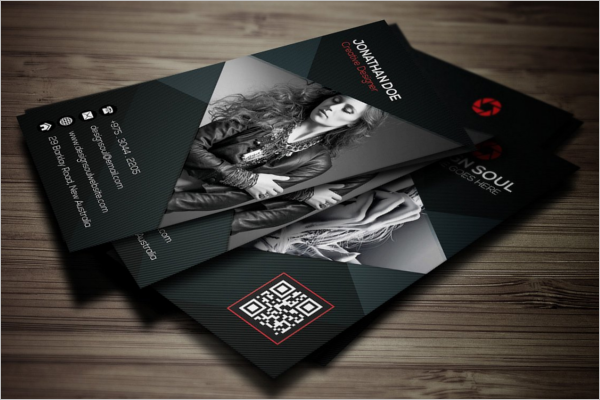 Photography Business Card Idea Design