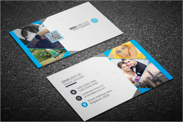 Photography Business Card Photoshop Design