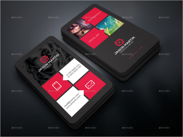 Photography Business Card Set Template